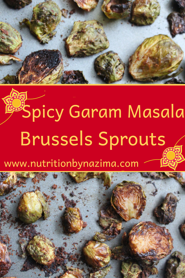 Spicy Garam Masala Brussels Sprouts