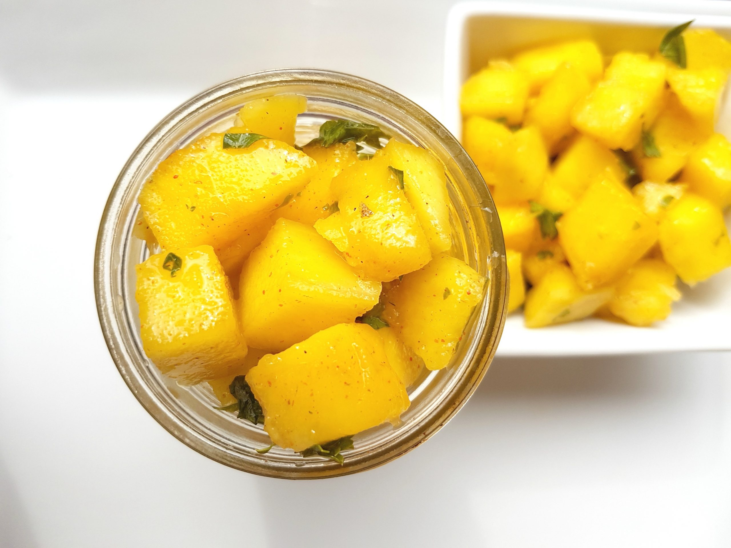 Quick and Easy Pickled Mango