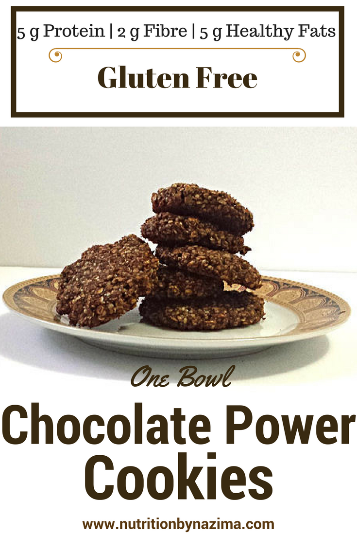 One-Bowl Chocolate Power Cookies