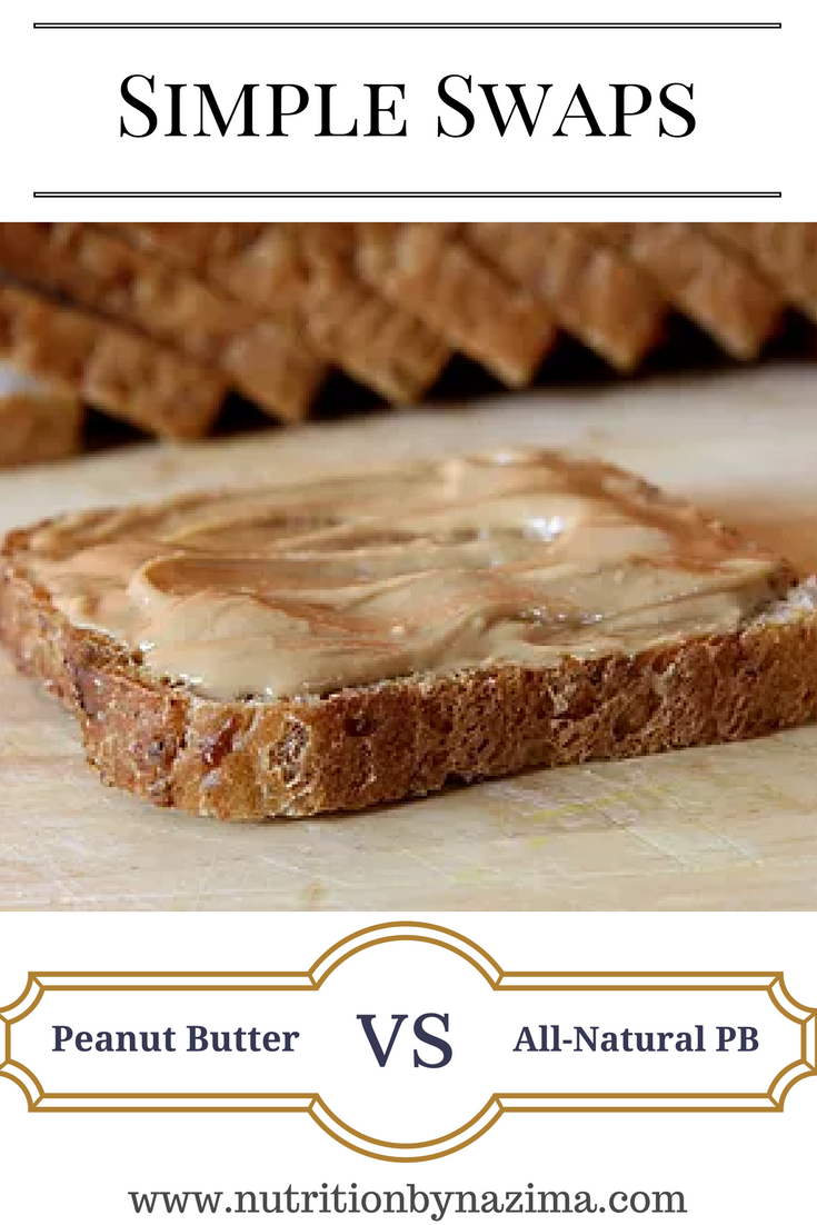 Simple Swaps: Peanut Butter