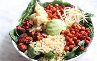 Roasted Tandoori Salad Power Bowl