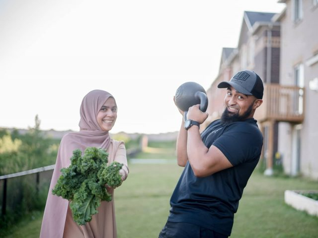 "We're back to help YOU with your nutrition and fitness goals!   This past summer, Belal and I have launched our 12 week ""The Healthy Muslims Program"" and have helped over 20 people reach their goals and see amazing results.  We are so excited to be opening up 15 more spots! (This past week we filled 5 spots).  We have put together personalized nutrition + personalized fitness that is tailored to YOU. This is not a cookie cutter program, we are there to support you and provide you with a personalized program.  It's why we only open up a limited number of spots - so we can make sure every single person that is a part of the program sees the results they've always dreamed of.  If you're serious about making a change before 2020 is over, send me or @strongerwithbelal a DM!"