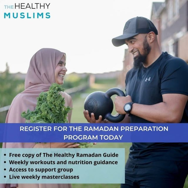 *Join the Ramadan Preparation Program Now!*  We are so excited to announce the launch of our Ramadan Preparation Program!  The Ramadan Preparation Program will:  Get you feeling more energized throughout your fast, so that you have more energy for things that matter like ibadah  Help you finally lose weight during Ramadan that will carry over after the month as well  Get rid of the aches and pain most feel while having to stand long periods of time during taraweeh  Teach you how to eat in an optimal manner at suhoor and iftar, whether you want to follow a strict meal plan or will be eating most of your iftars in social settings.  Provide you with the exact exercises to do during Ramadan and also information of when and what is the best form of exercise during Ramadan.  You will receive a comprehensive program the month before Ramadan + The Healthy Ramadan Guide all for only $197 USD! Join now at the link in bio! . . . #healthyramadan #ramadan #ramadan2021 #healthymuslims #healthymuslimah #muslimcouple #dietitian #torontomuslims #strongmuslims #halalfoodie #muslimahblogger