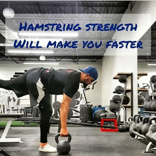 How to get faster for the average person.   One huge component most people lack in is their hamstring strength. Strength in your hamstrings is key to be able to develop speed.  However, that does not mean you have to go and do lots of reps on the leg curl machine. Leg curls is a knee flexion exercise, to build speed and strength you need hip extension.  Since the leg curl machine primarily focuses on knee flexion, it will not help you get faster.  A few great exercises to help strengthen your hamstrings to help with speed.  - Straight Leg Deadlifts with either. dumbbells or a barbell  - Supine Hip Thrusts  - Back Extensions  - Glute Ham Raises  That's just to name a few....  Most people are only familiar with the leg curl machine for hamstring exercises.  Unfortunately, It isn't the best for performance. Try different exercises to improve strength and overall function. To improve your athletic performance or overall strength, think hip extension for developing strong hamstrings (see the list above).   All major movements like sprinting, jumping, tackling and even throwing involve hip extension. So you don't need work so hard on knee flexion.  Hamstrings are usually underdeveloped on most people. So try to give it more attention and it will really help you become stronger, faster and more well rounded.  What's your go to hamstring exercise? . . . . #thehealthymuslims #healthymuslims #muslimhealth #muslimfitness #fitmuslimah #muslimfitnessgoals #muslimcoach #hamstrings #hamstringworkout #legday #legworkout #fitfam #instamuslim #muslimmuscle #muslimfit #muslimahfitness #ummah #muslim #islam #muslimworld #muslimsoftheworld #islamworld #deen #halal #halalworkout #muslimreels #halalbanter #muslimig #halalgram #igfitness